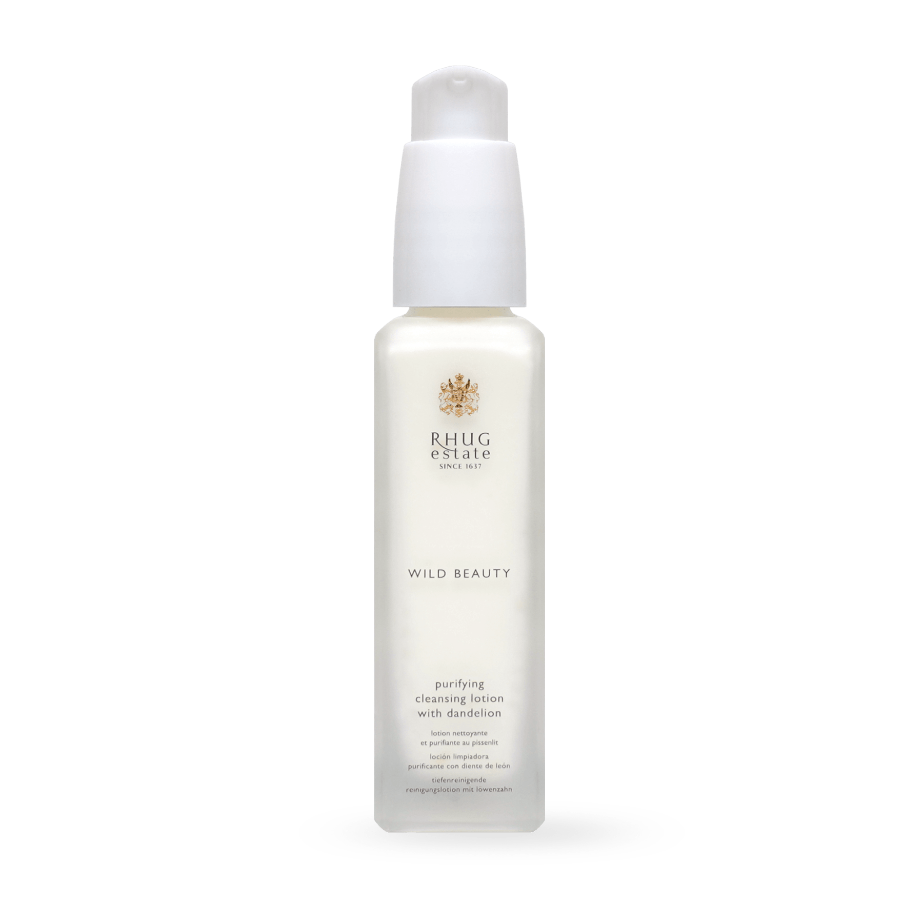 Purifying Cleansing Lotion with Dandelion Mini by Rhug Wild Beauty