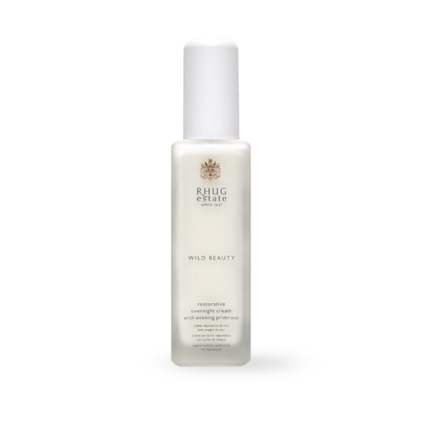 Restorative Overnight Cream with Evening Primrose by Rhug Wild Beauty