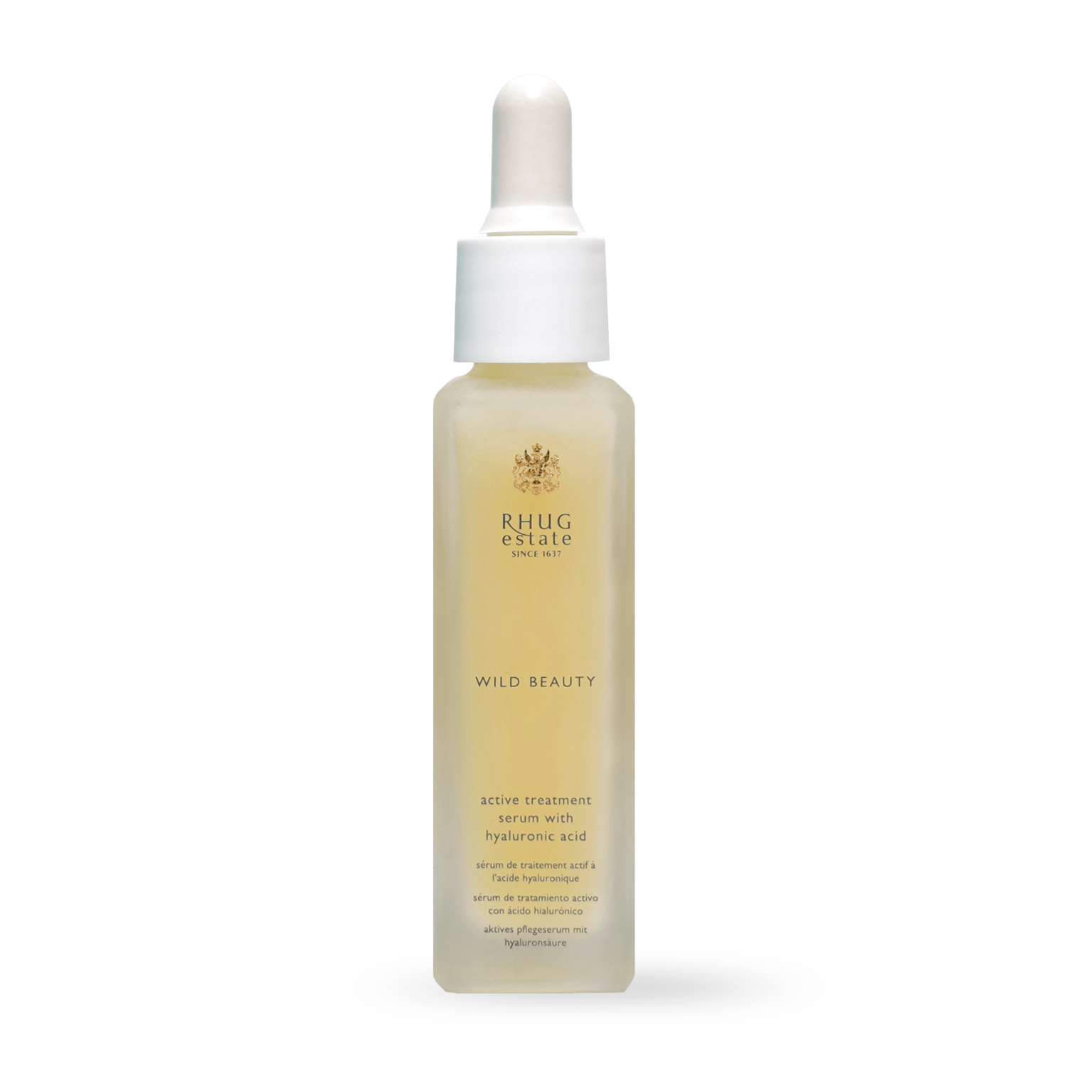 Active Treatment Serum with Hyaluronic Acid by Rhug Wild Beauty